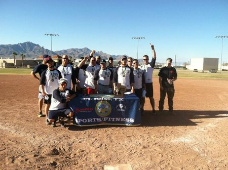 """Bd"" Fort Bliss Rec League Softball Champs!! T-Shirt Photo"