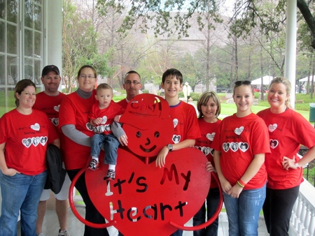 Walking For The Frechette/Prather Family   Beating Chd!  Yesterday, Today, & Tomorrow T-Shirt Photo