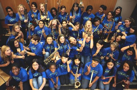 Berkeley Ca Girls' Jazz & Blues Camp T-Shirt Photo