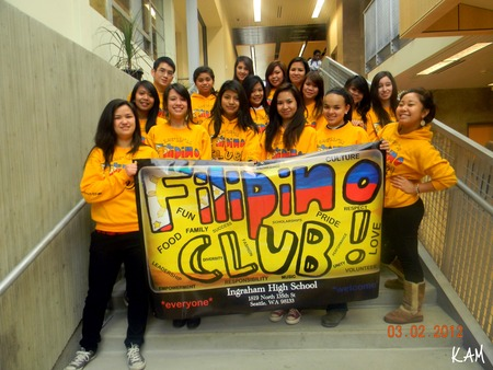 Ihs Filipino Club Loves Custom Ink! T-Shirt Photo