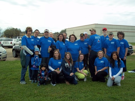 2012 Central Louisiana Heart Walk T-Shirt Photo