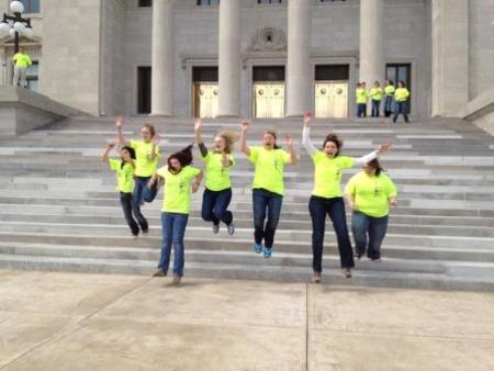 These Shirts Make Us Jump For Joy! T-Shirt Photo