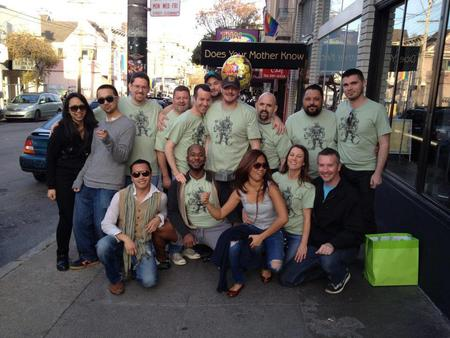 Joey's 46th Birthday Pub Crawl In Sf T-Shirt Photo