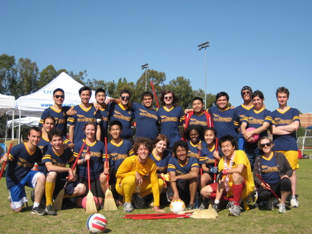 Sjsu Quidditch Team At The Western Cup T-Shirt Photo