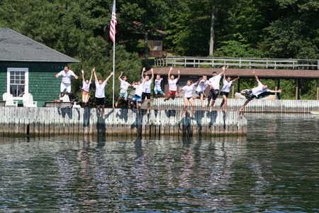 Dock Jumping 2011 T-Shirt Photo