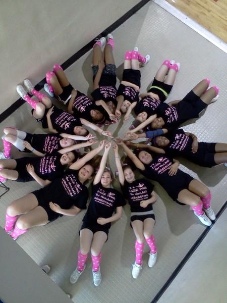 Hillsborough Ycoa Cheerleaders Get Ready For Nationals T-Shirt Photo