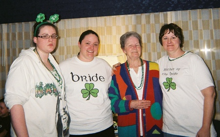 My St. Patty's Day Wedding T-Shirt Photo