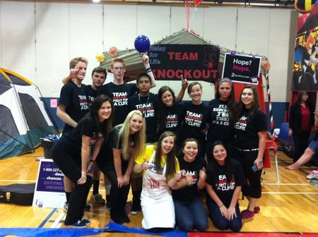 Team Knockout: Fighting For A Cure T-Shirt Photo