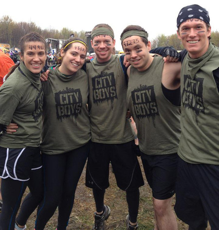 City Boys! Tough Mudder Michigan\Ohio T-Shirt Photo