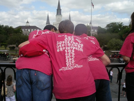 Boys In New Orleans T-Shirt Photo