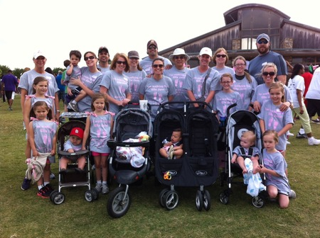 March Of Dimes   Ella Jane's Angels Team T-Shirt Photo
