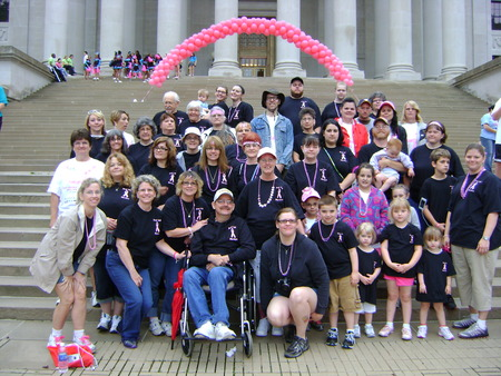 Deaf Pink Warriors T-Shirt Photo