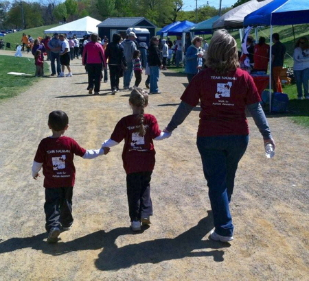 Walk For Autism Awareness T-Shirt Photo