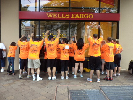 """Team """"Walk With Friends""""   The Race For Hope T-Shirt Photo"""
