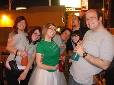 Party In La T-Shirt Photo