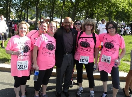 Race For The Cure 2012 T-Shirt Photo