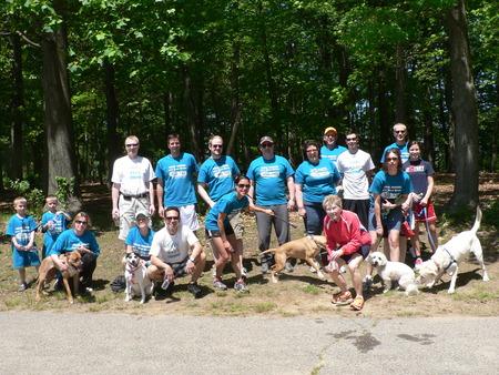 Cystic Fibrosis Charity Walk T-Shirt Photo