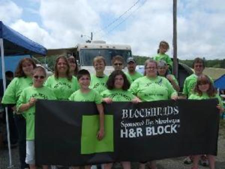 Block Heads Relay For Life Team  T-Shirt Photo