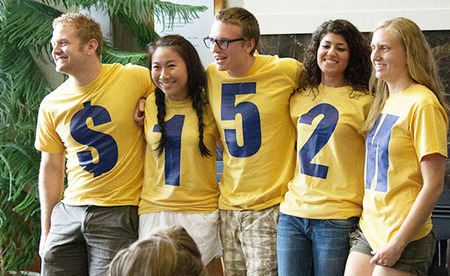 Augustana College Reveals Fundraising Total T-Shirt Photo