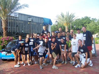 Team Beast Pointe Orlando 5 K Race T-Shirt Photo