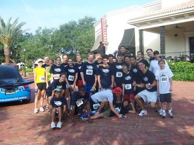 Team Beast Pointe Orlando 5 K Race T-Shirt Photo