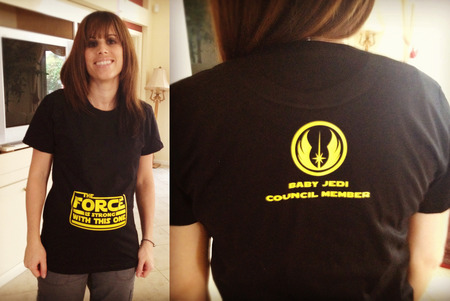 The Force Is Strong With This One! T-Shirt Photo