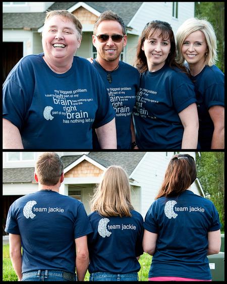 Team Jackie T-Shirt Photo