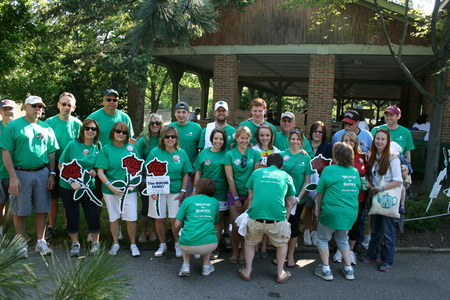 Cystic Fibrosis; Cleveland Zoo Walk; Team Braeden T-Shirt Photo