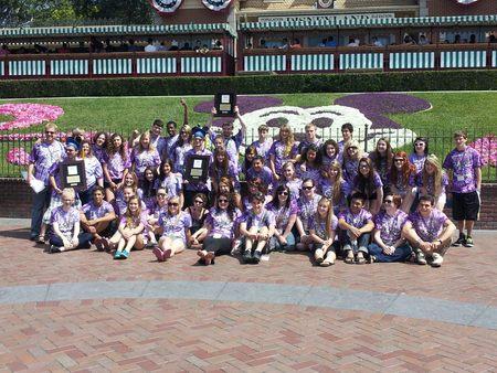 Sequim High School Choir With Micky! T-Shirt Photo
