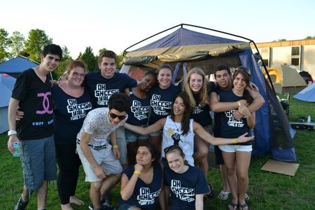 Relay For Life 2012 Group Photo T-Shirt Photo