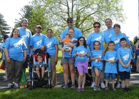 Team Monroe  Walking For Autism Speaks 2012 T-Shirt Photo