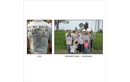 Morabito Mob   Hopewalk 2012 T-Shirt Photo