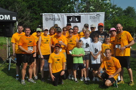 Dab, Inc   Running For Radcliffe Creek School, Chestertown Md T-Shirt Photo