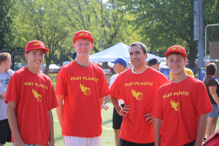 Fast Plastic Wiffle Ball Champions T-Shirt Photo