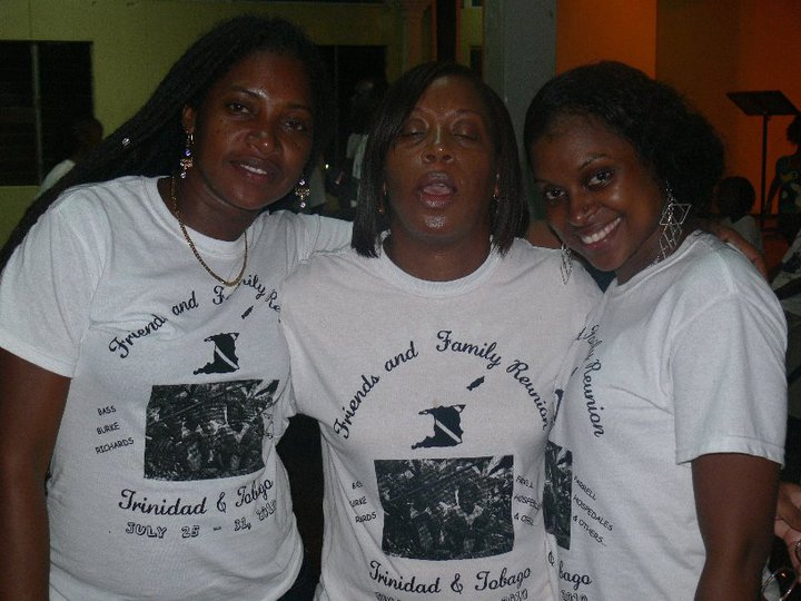 Custom T-Shirts for Trinidad & Tobago Family Reunion - Shirt Design ...