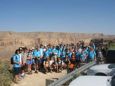 Havasupai Hiking Group T-Shirt Photo