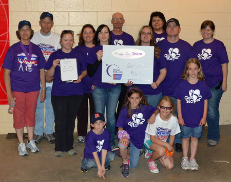 Got Hope? Relay For Life Team T-Shirt Photo
