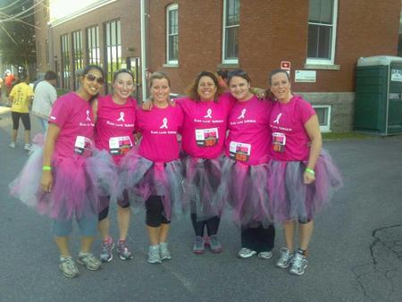 "Team ""Run Like Swayze, Dance Like Farley"" At Twilight 5 K! T-Shirt Photo"