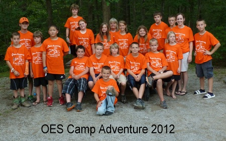 Oes Camp Adventure 2012 T-Shirt Photo
