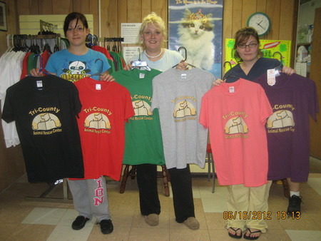 Volunteers Display All The Colors T-Shirt Photo