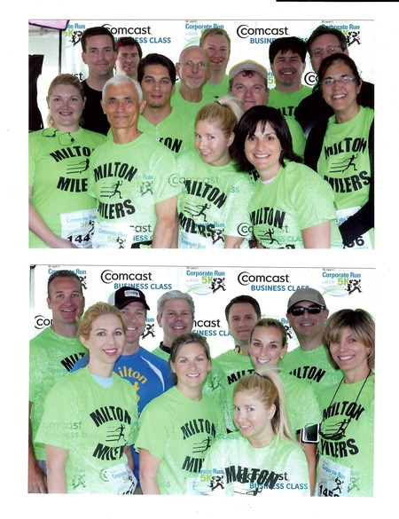 Milton Leach Law Firm Race Team T-Shirt Photo