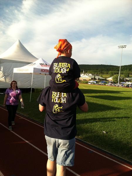 Bubba's Babes Are Bubba Tough! T-Shirt Photo