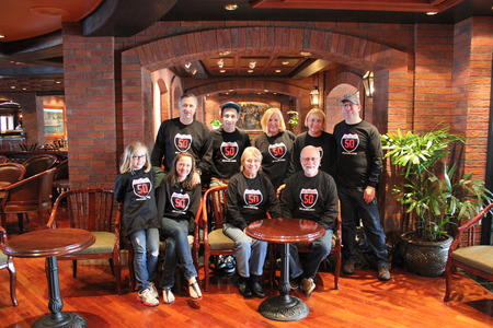 50th Anniversary Alaska Cruise! T-Shirt Photo
