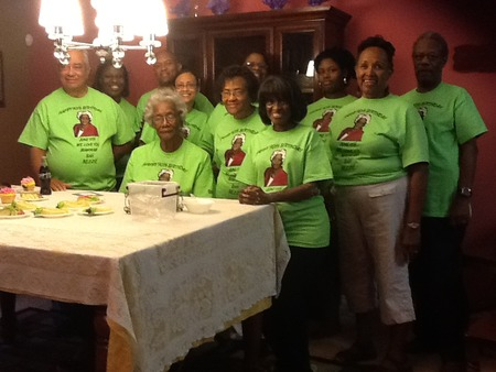 Gathered Around Our Matriarch T-Shirt Photo