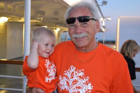 2012 Family Cruise (T Shirt View) T-Shirt Photo