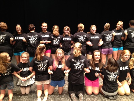 Dance Camp 2012 T-Shirt Photo