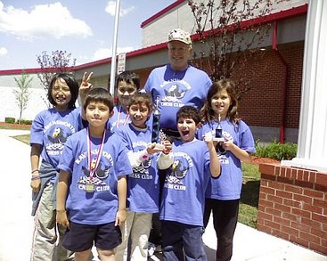 Ravensworth Takes 2nd Place Trophy At Chess Tournament. T-Shirt Photo
