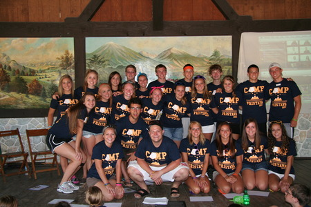 Camp Pristava 2012 Counselors! T-Shirt Photo