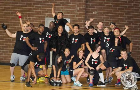 Awesome At Dodgeball. Horrible At Team Pictures. T-Shirt Photo