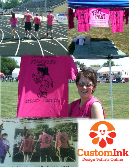 Von Jones 4 Relay 4 Life T-Shirt Photo
